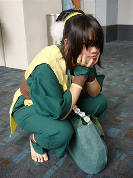 Toph is Waiting