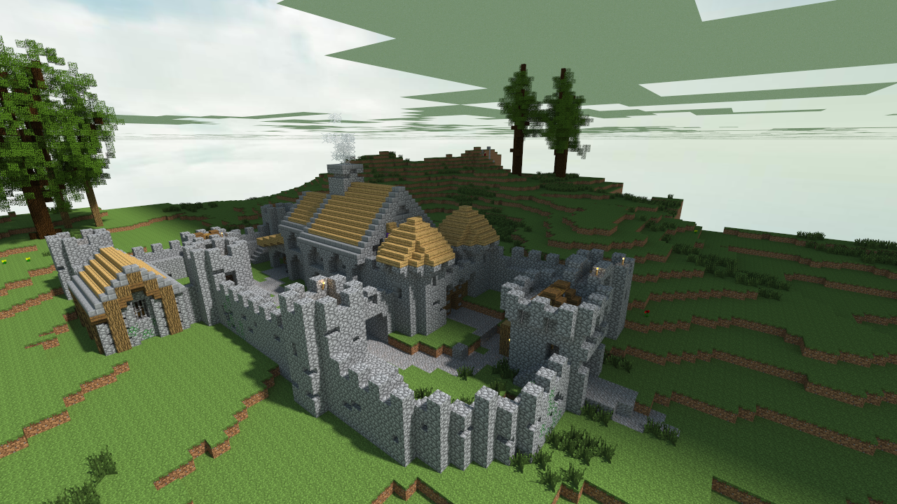 Kaerndal Castle Scottish Style Castle Minecraft 451042670 on Minecraft Castle Blueprints