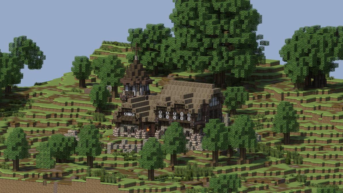 Nostalgia Minecraft Wallpaper Hd 1920x1080 By Husseinhorack On