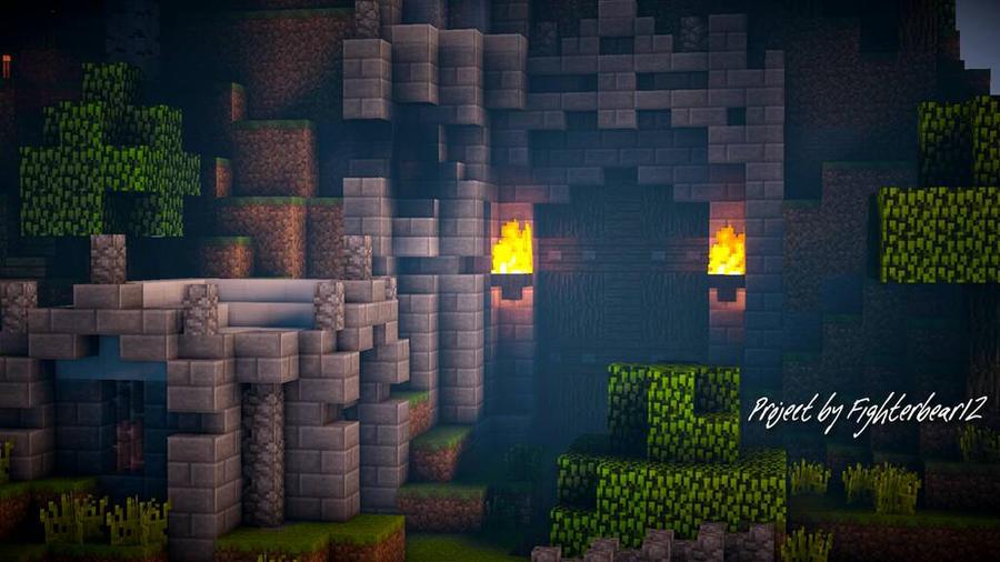 minecraft gate. Dwarven Gate - Minecraft By HusseinHorack