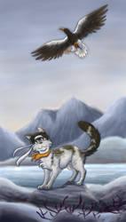 Wild eagle by Chess-Kitten