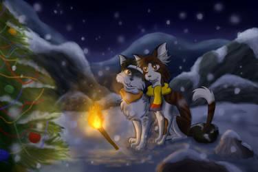 Merry Fluffy Christmas by Chess-Kitten