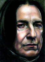 Alan Rickman by InsAnnaty
