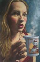 Self-Portrait: RIP Mouse Mug by InsAnnaty