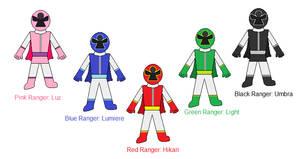 Power Rangers Angel Brigade