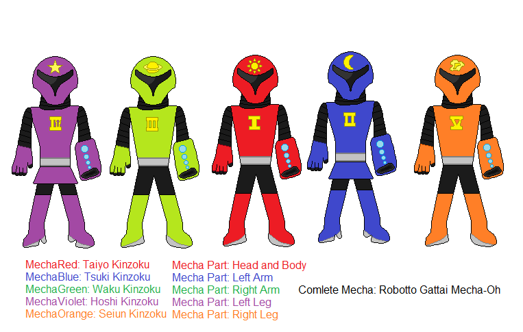 Robotto Sentai Mecharanger by CustomThings on DeviantArt