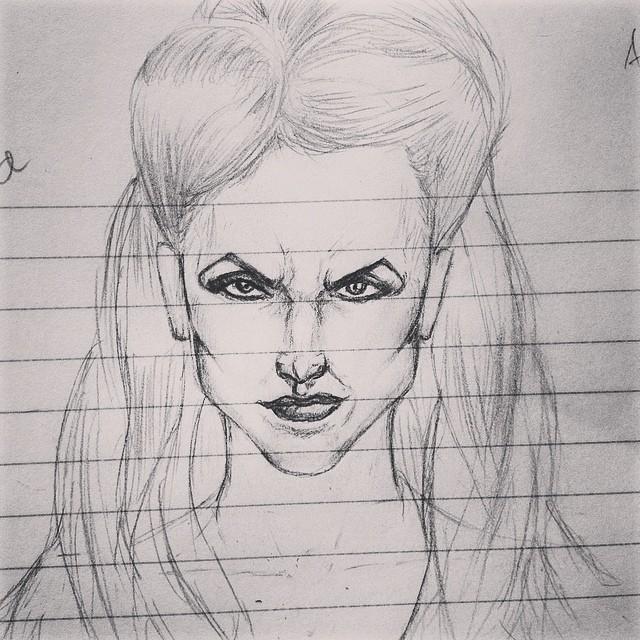 Regina Sketch by ComicVertigo