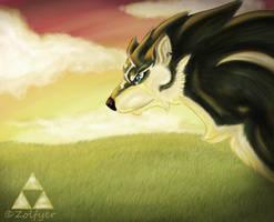 Wolf Link by Zolfyer