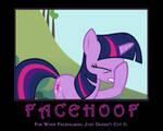 Facehoof, Twilight Sparkle by AtomicGreymon
