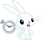 Angel Bunny: 'You're late'