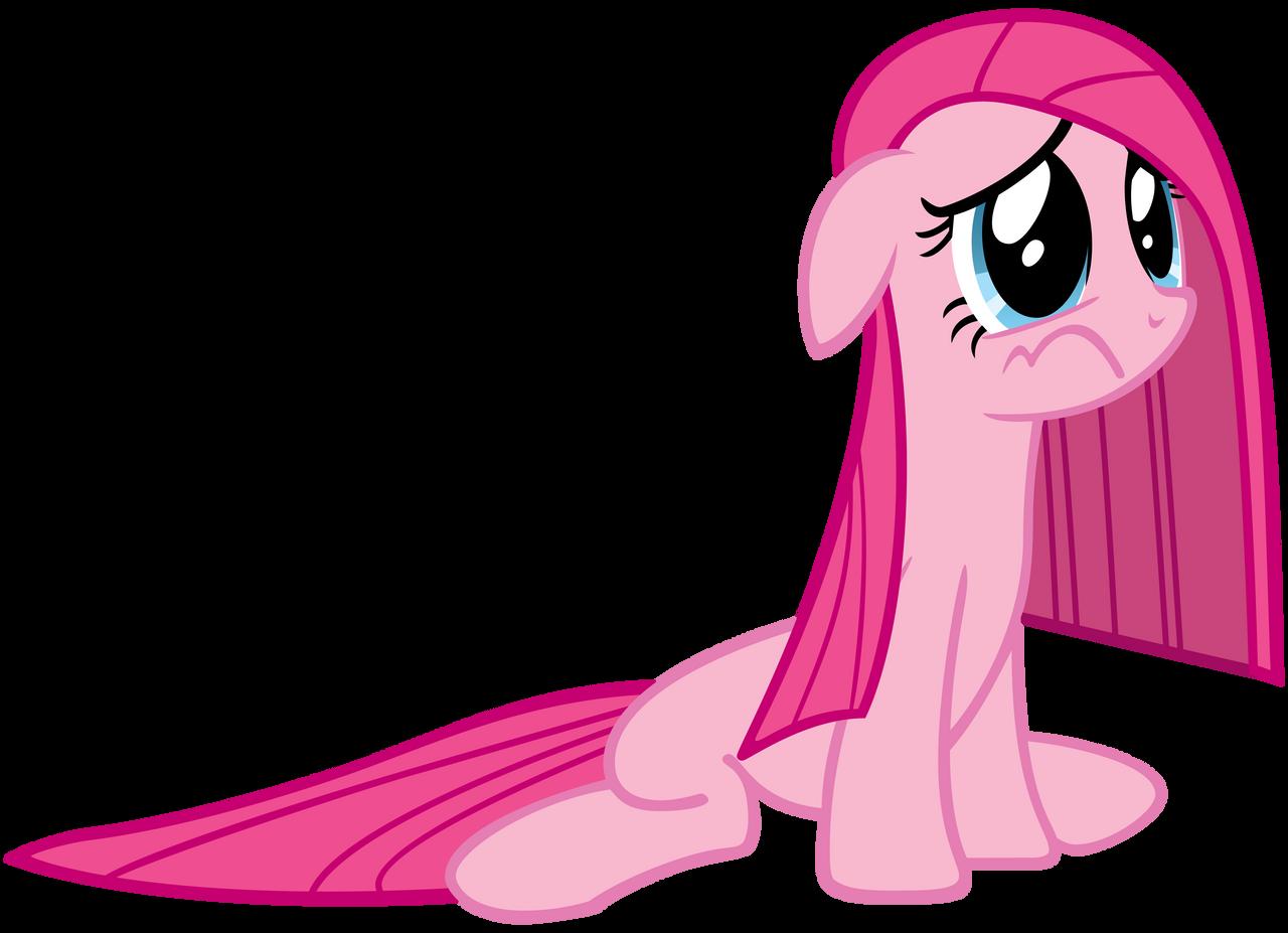 Depressed Pinkie Pie by AtomicGreymon