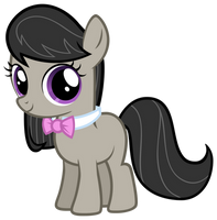 Octavia as a filly, MLP:FiM by AtomicGreymon