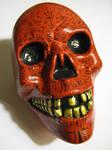 Skull with Esoteric symbols.