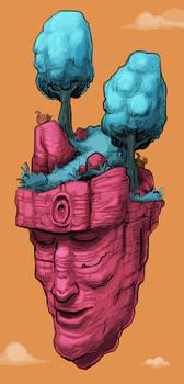 Floating Face Island 02