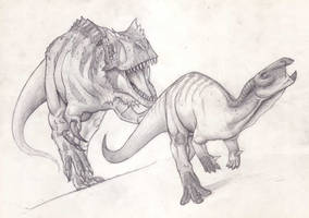 Alosaurio V by Mingott