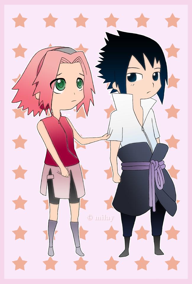 Naruto  Sakura x Sasuke by MilayNaruto X Sakura X Sasuke