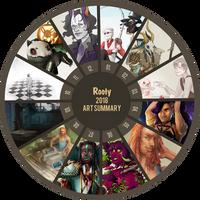 2018 - Art Summary by rootyful