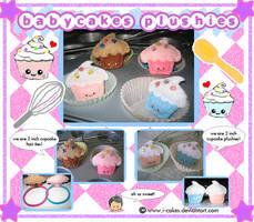 babycakes plushies by i-cakes