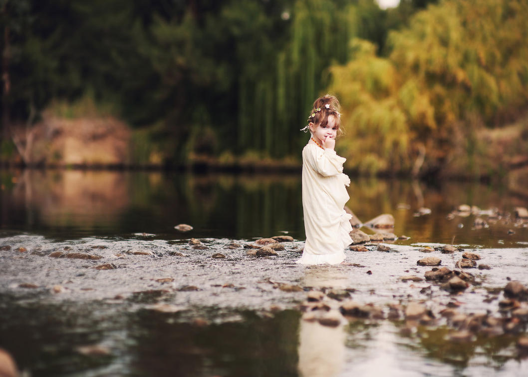 River girl by kittynn