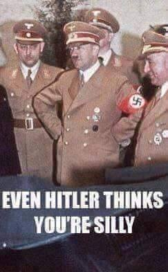 Even Hitler Thinks Youre Silly by IncoheriantChipmunk
