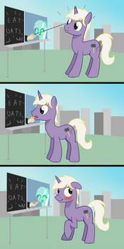 Drawbridge is a Silly Pony