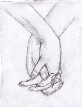 Holding Hands by RaBear on DeviantArt