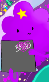 Lumpy Space Princess - Phone Wallpaper by AskingUndead on ...