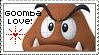 Goombas are Love - Stamp by magedusted