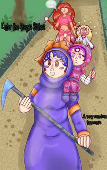 'Enter the Magus Sisters' Cover