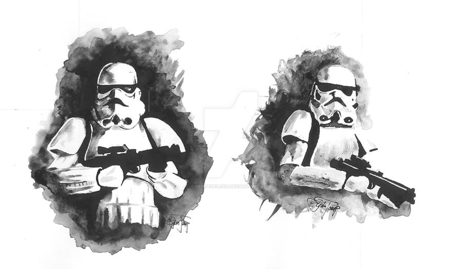 Stormtroopers by dentedelean