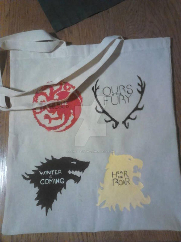 Game of Thrones bag by dentedelean