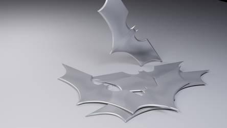 Batarang (Dark Knight series) by axeeater