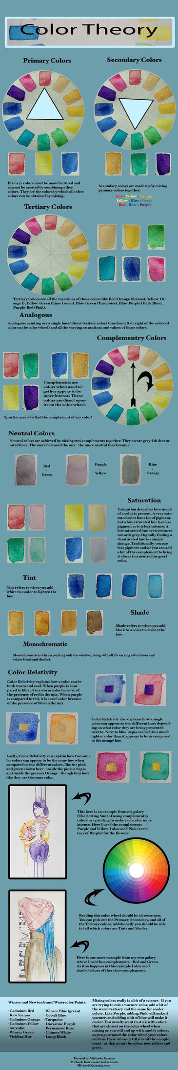 Color Theory Favourites By Gbmelendez23k On Deviantart