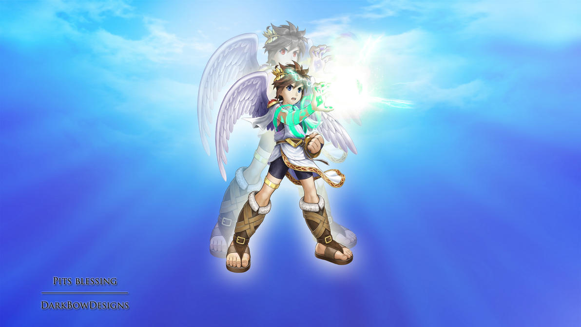 pits blessing kid icarus uprising by darkbowdesigns on