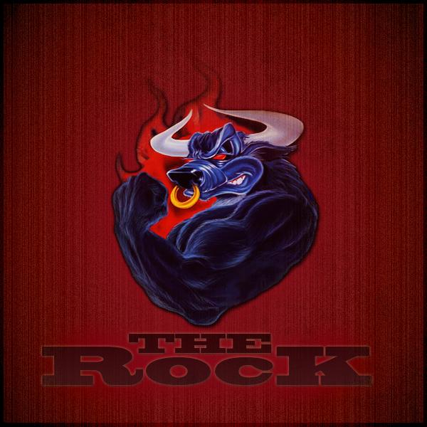 The Rock Bull Logo Wallpaper