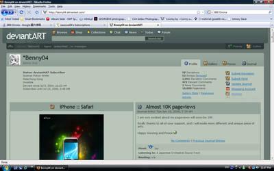 My 10K Pageviews Screenshot by bennywai