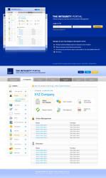 Web Application 2.0 Layout by bennywai