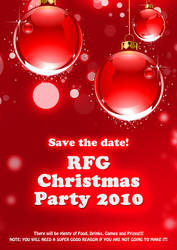 X'mas Party Poster 2010 by bennywai