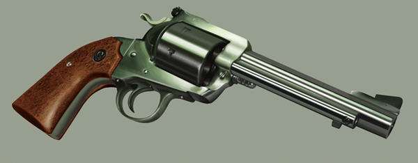 Bisley gun
