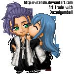 Yamato and Ayumi - Art trade by wtenshi