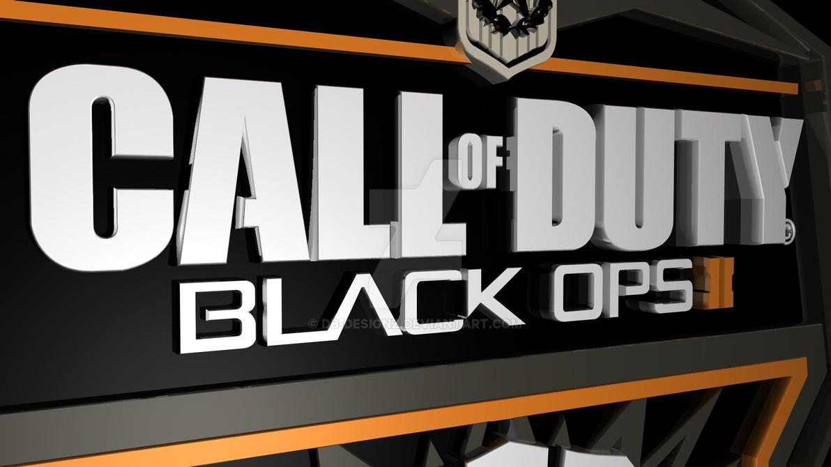Official Black Ops 2 Logo Render