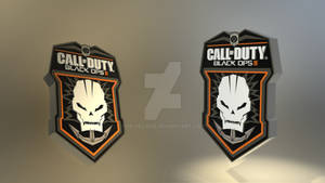 Call of Duty: Black Ops 2 Logo 3D