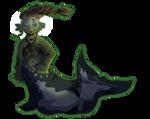 mermaid lady