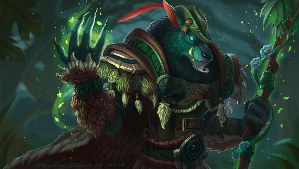 Druid by JunkieSlasher