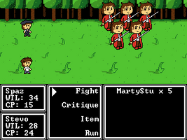 Random Project Mockup - Spaztique Fanfic RPG by FullHitPoints