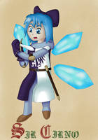 Sir Cirno the Brave by FullHitPoints