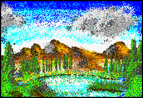 Mario Paint Bob Ross Experiment by FullHitPoints