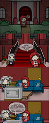 Touhou in Sims 2: Uninvited Guest by FullHitPoints