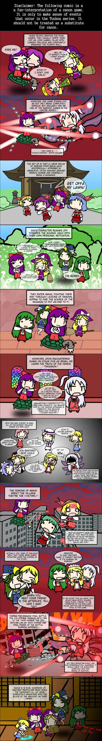 Mystic Square Explained
