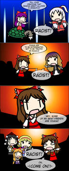 4Koma Friday: Reimu The Racist